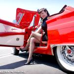 """Shake Rattle & Roll Car Show - Jennifer"" by rockabillyboy72"