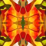 """Tropical Leaf Pattern 2"" by AmyVangsgard"