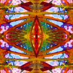 """Tropical Stained Glass"" by AmyVangsgard"