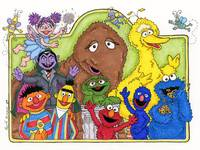 sesame street fan art