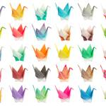 """Origami birds chart"" by phaif"