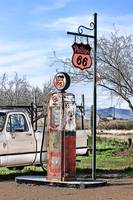 Old Timer Gas Pump