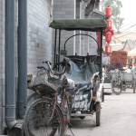 """Rickshaw bike, Beijing, China"" by spikemandesigns"