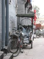 Rickshaw bike, Beijing, China