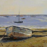"""Boats in Provincetown Harbor"" by creese"