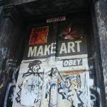 """""""Make Art! Obey!"""" by Peek"""