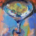 """Martini Oil Painting"" by creese"