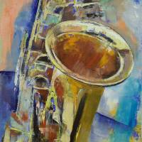 """Saxophone"" by creese"