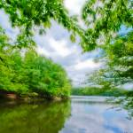 """Lake at Springtime"" by HWP"