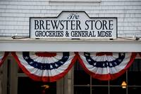 Brewster Store sign