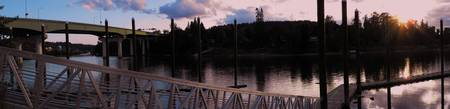 Sunset At the Willamette River
