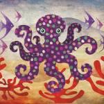 """""""Octavius the Octopus"""" by sandygrafik_arts"""