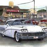 """Classic Car,1958 Buick Century"" by Texaslady"