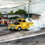"""Classic Cars,Burnout ,Summers Last Blast"" by Texaslady"