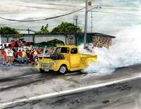 Classic Cars,Burnout ,Summers Last Blast