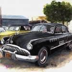 """Classic Car,49 Buick Roadmaster"" by Texaslady"