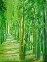 Bamboo paths