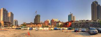 Parking place Panorama.