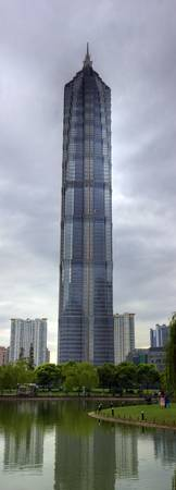 Jin Mao Tower.