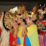 """""""Legong Dancers"""" by wildmilne"""
