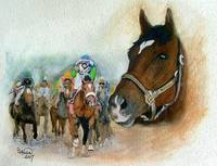 Horse Portrait,Barbaro ,,Kentucky Derby IV