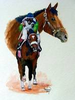 Horse Portrait,Barbaro ,Kentucky Derby