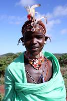 Samburu young warrior along the Great North Road