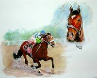 Horse Portrait,Barbaro, Kentucky Derby