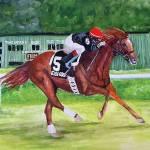 """""""Horse portrait,Easy Goer"""" by Texaslady"""