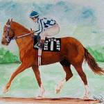 """Horse portrait,Secretariat..."" by Texaslady"