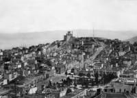 Observatory on Telegraph Hill from Russian Hill by WorldWide Archive