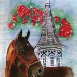 """Horse Portrait,Street Sense"" by Texaslady"