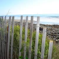 Broken Fence in Goleta Art Prints & Posters by Jackie Joice