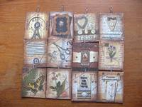altered art tags-pendants