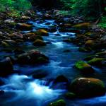 """Smoky Mountain, Roaring Fork"" by RichardBaumer"