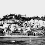 """Edinburgh City Snowfall (1 of 1)-Edit"" by imagesbycadac"