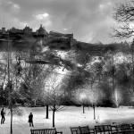 """""""Edinburgh Castle"""" by imagesbycadac"""