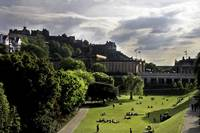 Edinburgh Castle & Princes Street Gardens