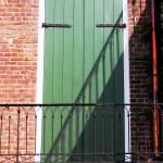 """""""New Orleans Green Door"""" by KerryFletcher"""