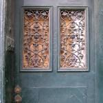 """""""New Orleans Grey Door"""" by KerryFletcher"""