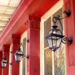 """New Orleans Red Building"" by KerryFletcher"