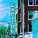 """Capitol Theater"" by karmicRenditions"