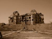 The King's Palace in Ruins, Kabul, Afghanistan