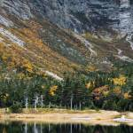 """Baxter State Park in Autumn, Chimney Pond, Maine"" by BrendanReals"