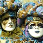 """Masks of Marc and Josy"" by DonnaCorless"