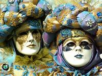 Masks of Marc and Josy