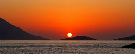 Dodecanese sunset