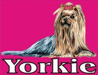 Pink Pop Pup Yorkshire Terrier