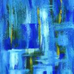"""Sky Juice From Original Abstract Painting"" by Itaya"