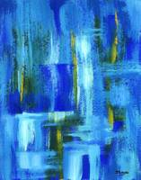Sky Juice From Original Abstract Painting